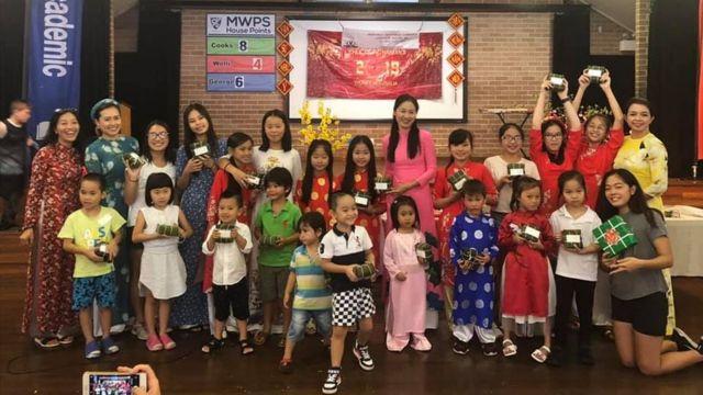 Học sinh trường Việt ngữ Inner West đón Tết Kỷ Hợi 2019