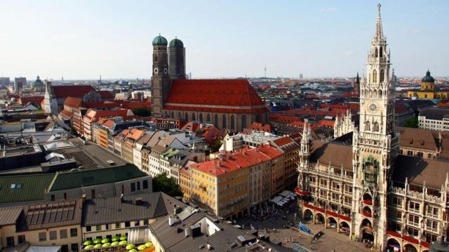 Una vista de Baviera