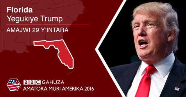 Trump atsinze Florida