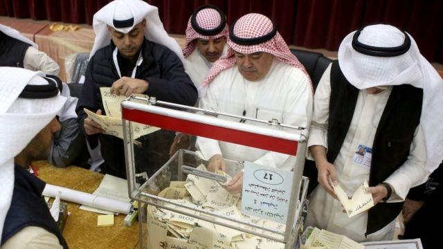 بدء فرز الأصوات في الكويت