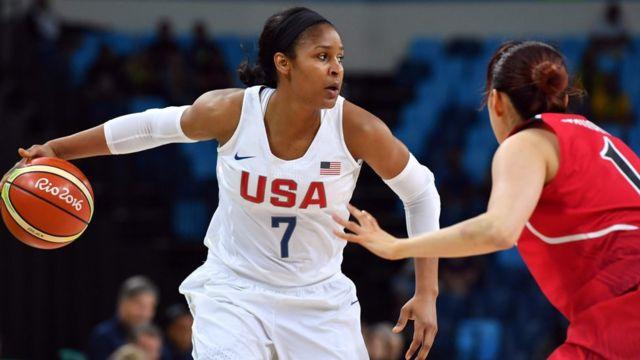 Final do basquete feminino