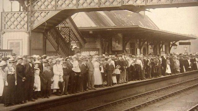 Historical railway station