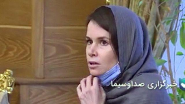 در سانه دولتی ایران ویدویی از انتقال خانم گیلرت منتشر شد