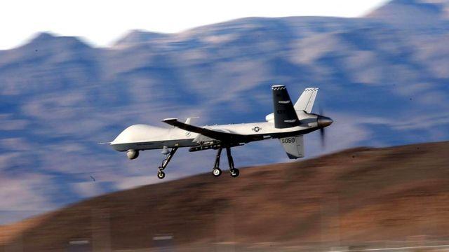 """Потерявший управление над Афганистаном американский разведывательно-ударный беспилотный летательный аппарат """"Рипер"""" пришлось сбить"""