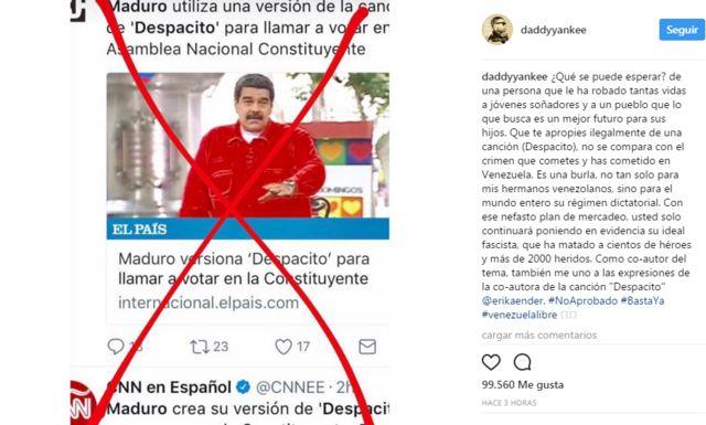 Esta es la imagen y el mensaje que Daddy Yankee publicó este lunes en su cuenta de Twitter.