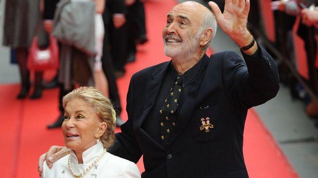Sean Connery y su esposa Micheline Roquebrune