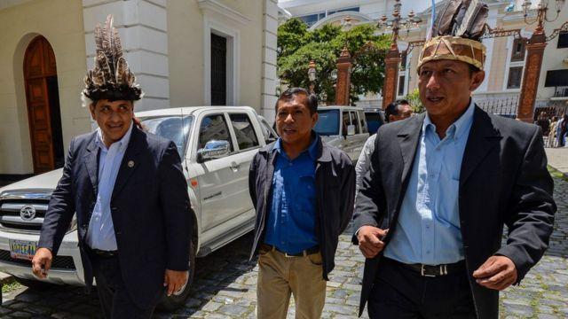 Diputados indígenas en Venezuela
