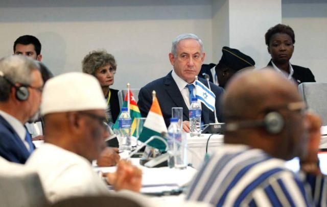 """Netanyahu ayaa sheegay in Israa'iil ay Afrika ku soo laabatay """"iyadoo miisaan leh"""""""