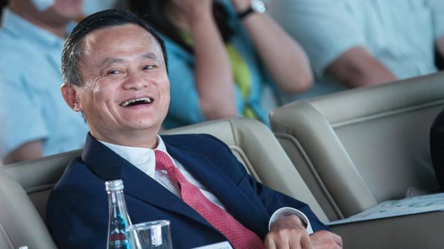 Alibaba Group Chairman Jack Ma attends 2018 Alibaba Xin Philanthropy Conference on September 5, 2018 in Hangzhou, Zhejiang Province of China.