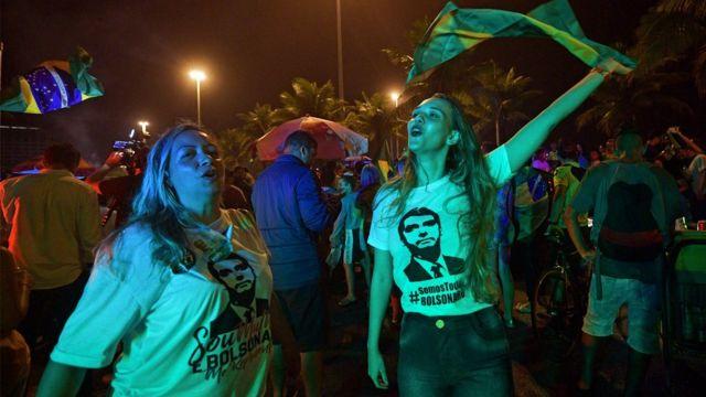 Votantes de Bolsonaro