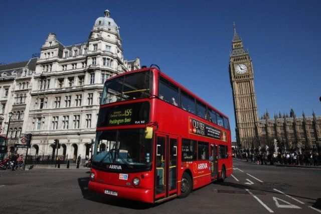 รถบัสในลอนดอน