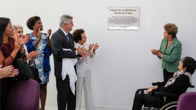 Inauguração de uma das Casas da Mulher Brasileira, medida elogiada por especialistas