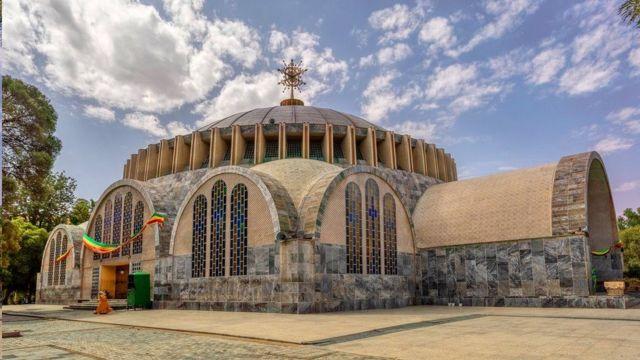 تعتبر كنيسة السيدة مريم عذراء جبل صهيون في أكسوم موقعا يزوره العديد من المسيحيين الأرثوذكس الإثيوبيين