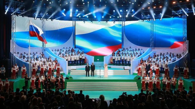 Moscow celebrates the opening ceremony of its own 'Paralympics'