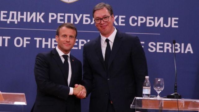 Makron i Vučić