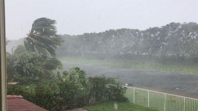 Tempestade em Weston
