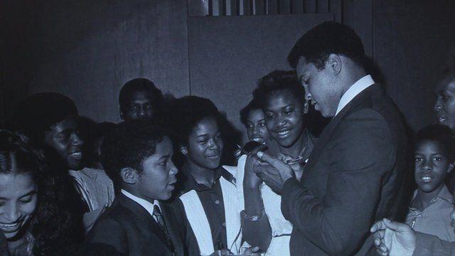 Muhammad Ali in Brixton