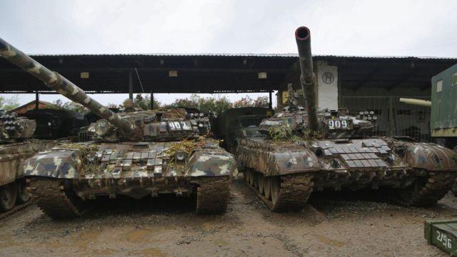 Сколько военной техники находилось в Карабахе, неизвестно - эта информация тщательно скрывалась