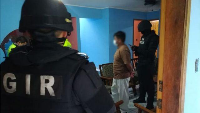 Hombre capturado en el marco de la Operación Querubín