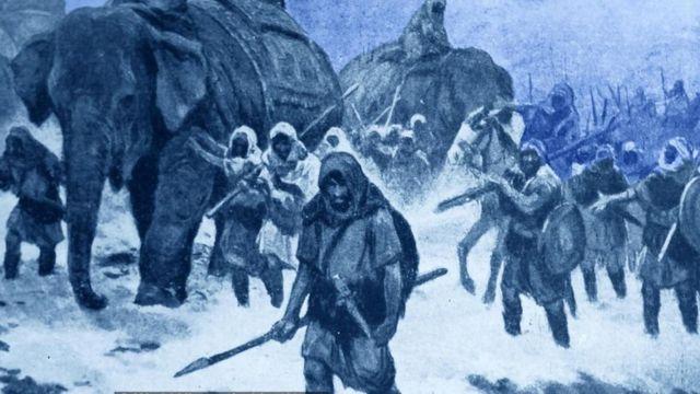 Армия Ганнибала оставила после себя следы. И не только побед