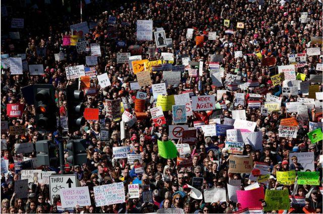 '우리의 생명을 위한 행진'(March For Our Lives) 시위