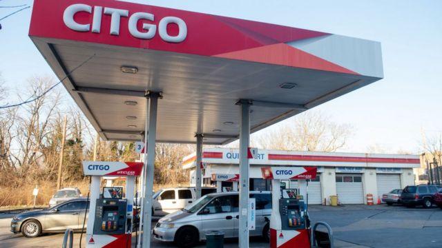 Una estación de Citgo, la empresa de combustible venezolana, en Estados Unidos