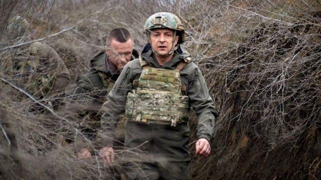 Presidente de Ucrania Zelensky
