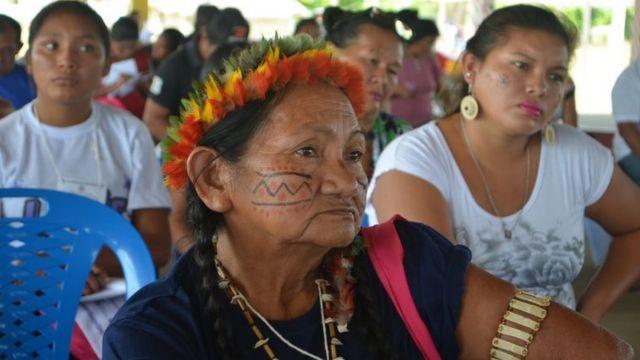 Conferencia de mujeres indígenas de Roraima