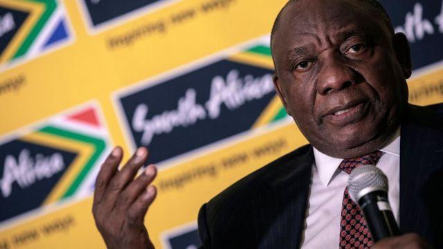 Cyril Ramaphosa le président sud africain entreprend une lutte sans merci contre la corruption