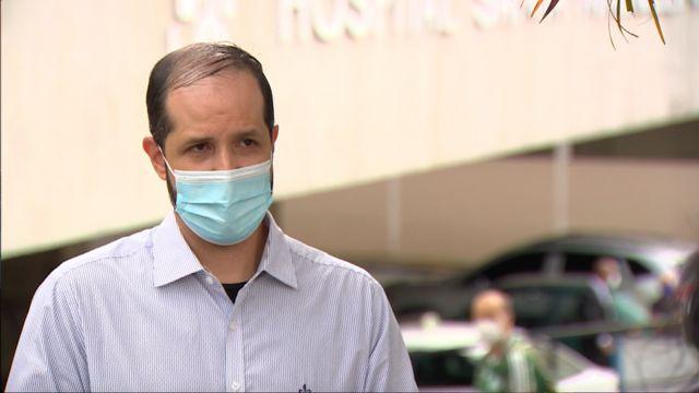 Médico intensivista Bruno Nunes