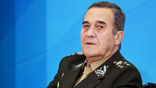 El comandante del Ejército brasileño, general Eduardo Villas Bôas,