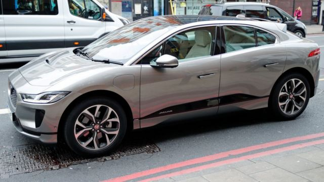 Dis na Sophie, Countess of Wessex Jaguar electric car