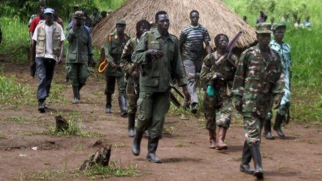यूगांडा के सैनिक