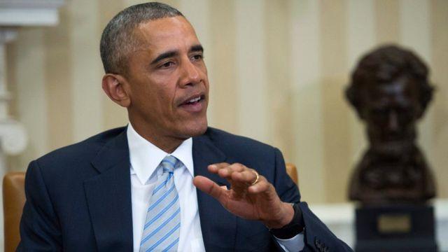 Barack Obama madaxweynihii hore ee Maraykanka