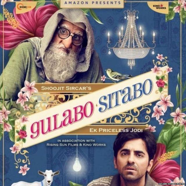 Gulabo Sitabo film poster
