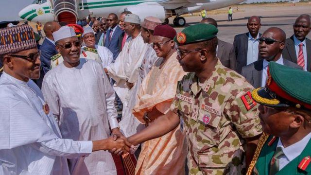 Muhammadu Buhari na ndịagha Anijiria