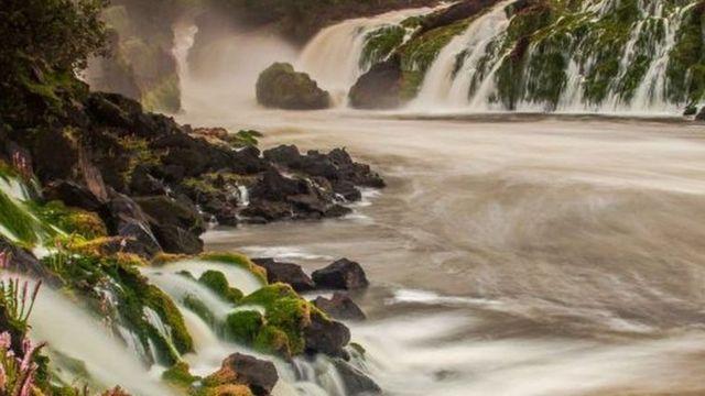 Cachoeiras no Parque Nacional Montanhas do Tumucumaque