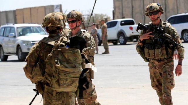 O Pentágono anunciou uma redução de suas forças no Iraque