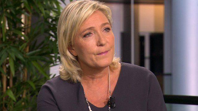 Marine Le Pen, France's National Front leader