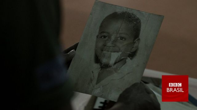 Sebastião Oliveira quando menino