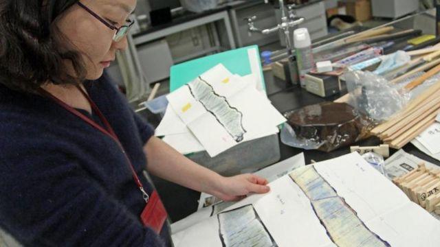 Investigadora japonesa