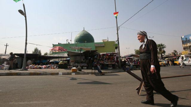 مشهد عام من الشارع الكردي