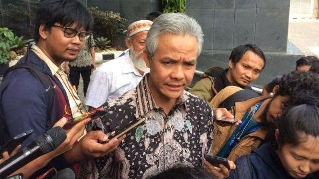 Ganjar Pranowo langsung membantah tudingan Setya Novanto, namun sang mantan Ketua DPR kukuh.