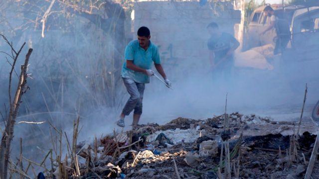 غارات قصفت مناطق في إدلب عدها البعض بدءا أو إنذارا بالهجوم المرتقب