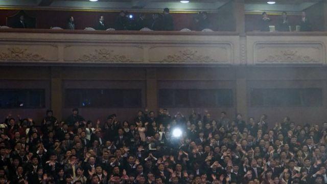 público no concerto