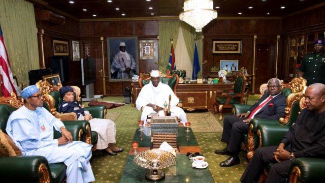 Aucun accord n'a été trouvé entre la CEDEAO et le Président sortant de la Gambie