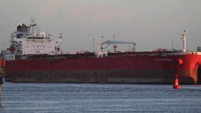 Stowaways threaten to hijack oil tanker in English Channel