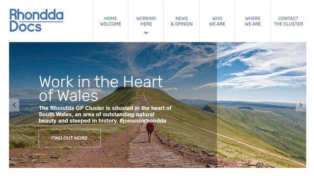 Rhondda Docs website