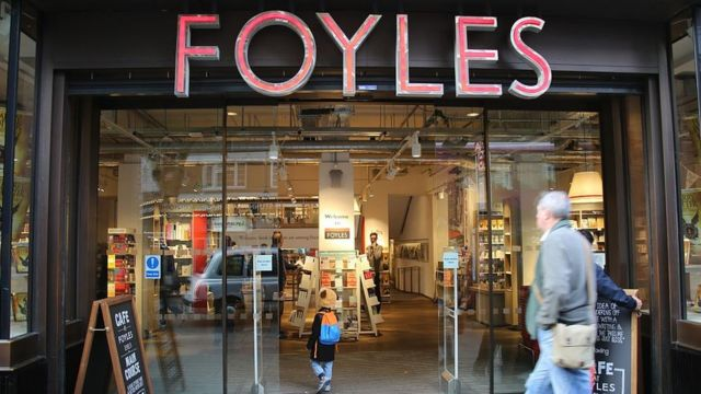 Waterstones buys Foyles to defend bookshops against Amazon