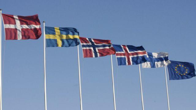 پرچمهای اسکاندیناوی